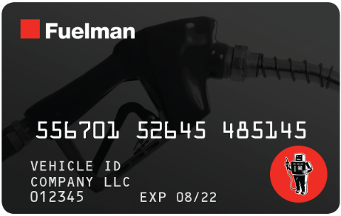 what is a fuelman card